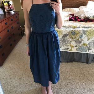 NWT Lucky Brand Denim dress